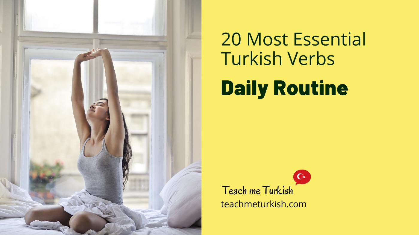Teach me Turkish